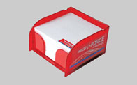 Promotional Acrylic Paper Holder with approx 400 sheets